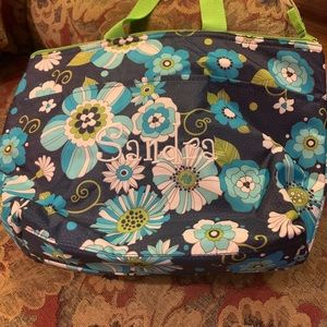 """Like New Thirty One Lunch Box with """"Sandra"""""""